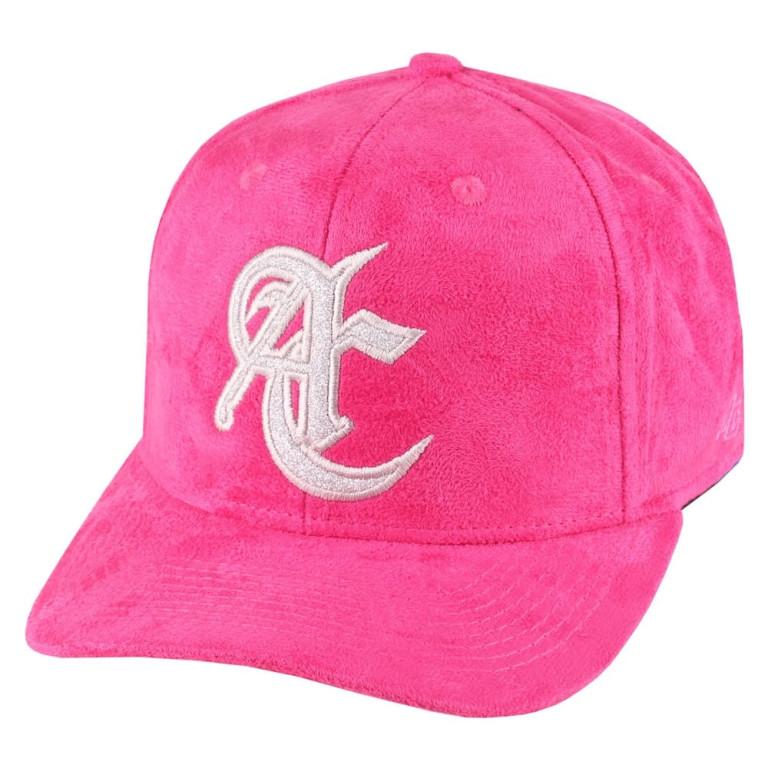 Boné Aba Curva Anth Co Nobuck Pink