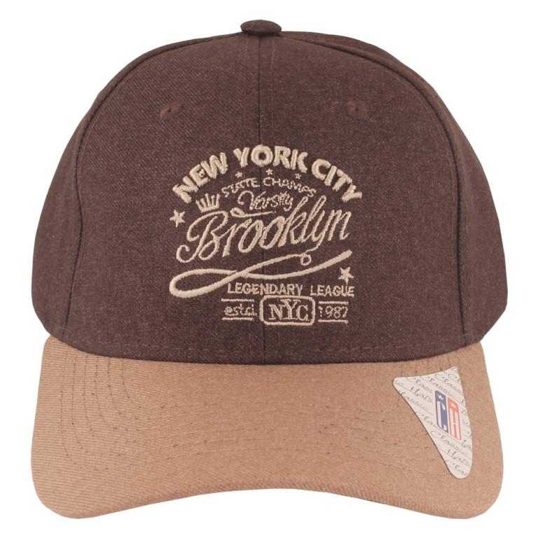 Boné Aba Curva Classic Hats Brooklyn Café