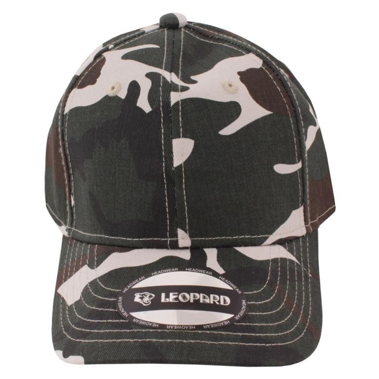 Boné Aba Curva Strapback Leopard Militar