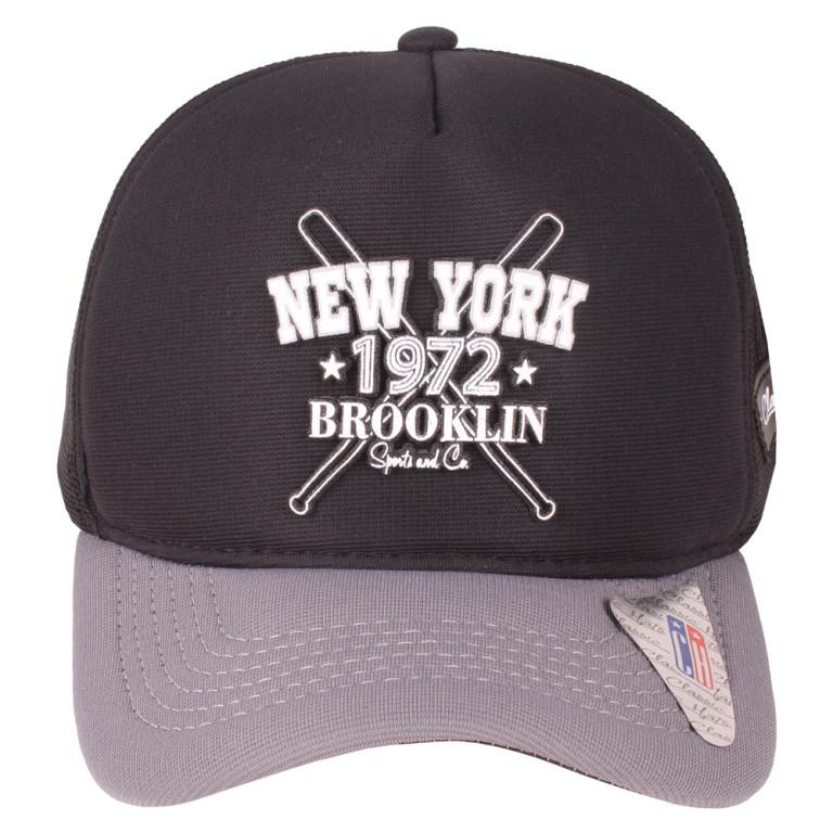 Boné Aba Curva Snapback Trucker Classic Hats New York 1972