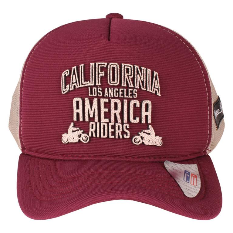 Boné Aba Curva Snapback Truker Classic Hats America Riders