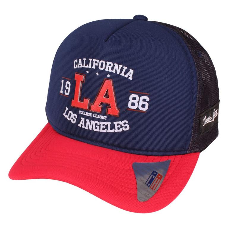 Boné Aba Curva Snapback Truker Classic Hats California 1986