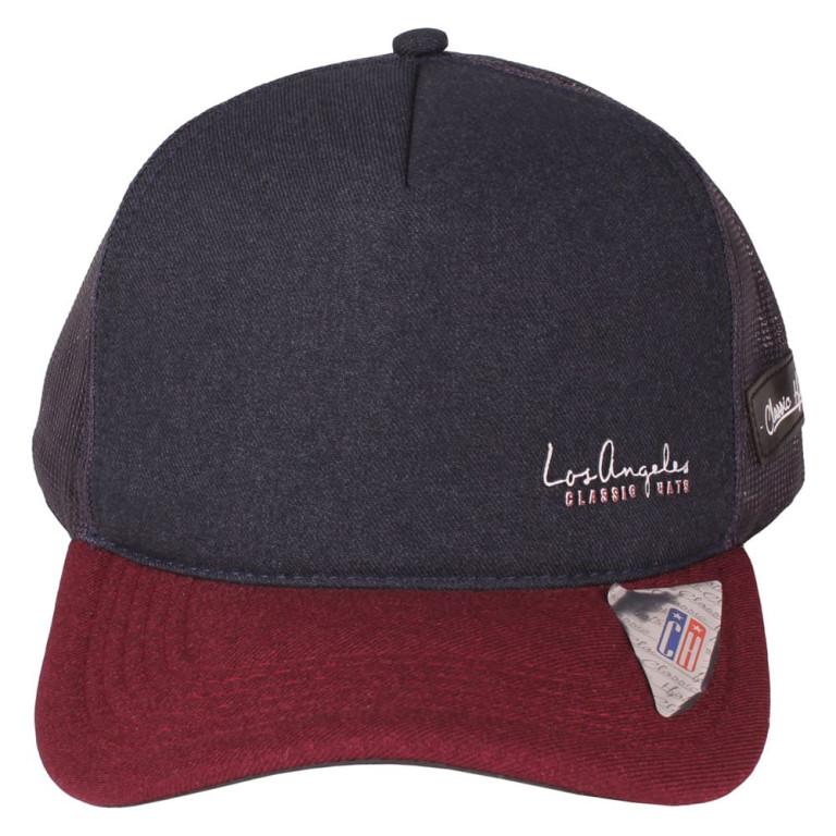 Boné Aba Curva Snapback Truker Classic Hats Los Angeles