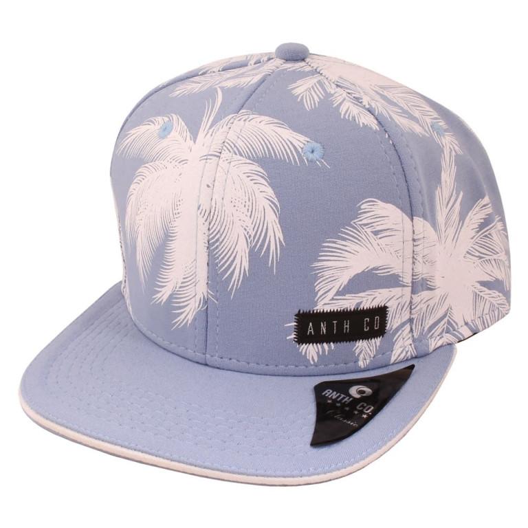 Boné Aba Reta Anth Co Palmeira Azul