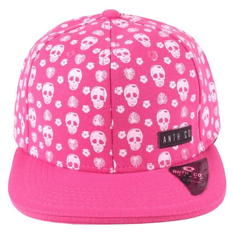 Boné Aba Reta Anth Co Skulls Pink