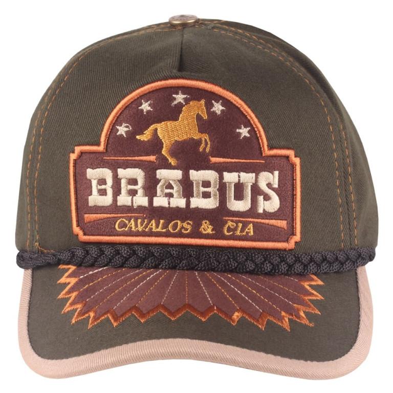 Boné Country Brabus Cavalos & Cia Verde