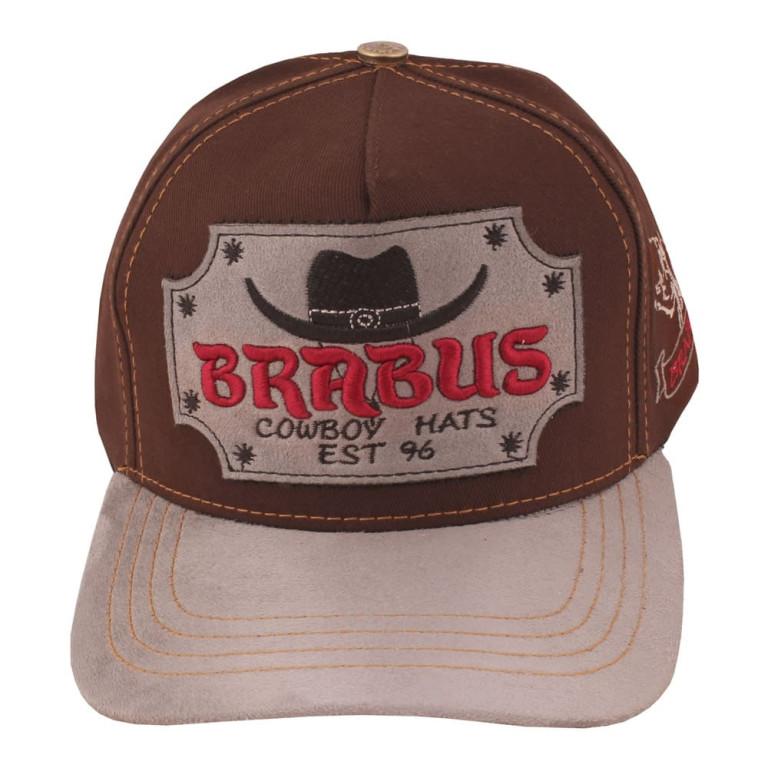 Boné Country Brabus Cowboy Marrom