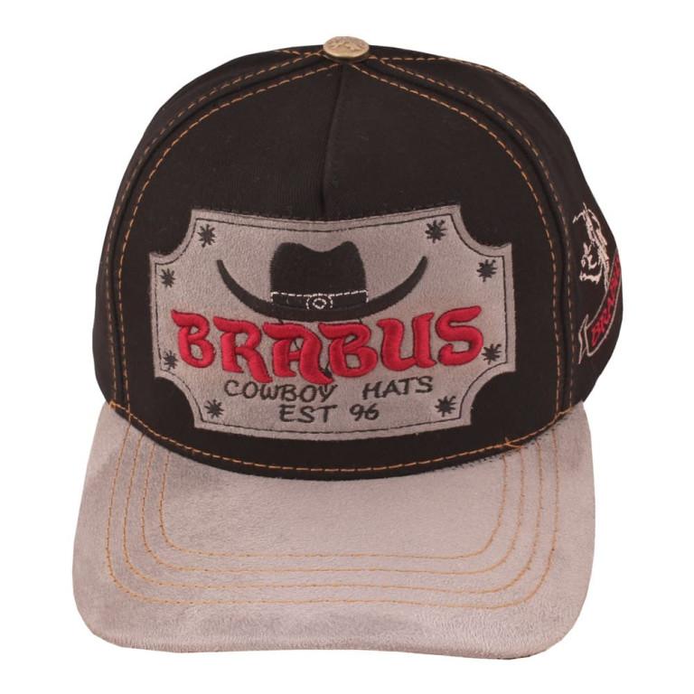 Boné Country Brabus Cowboy Preto