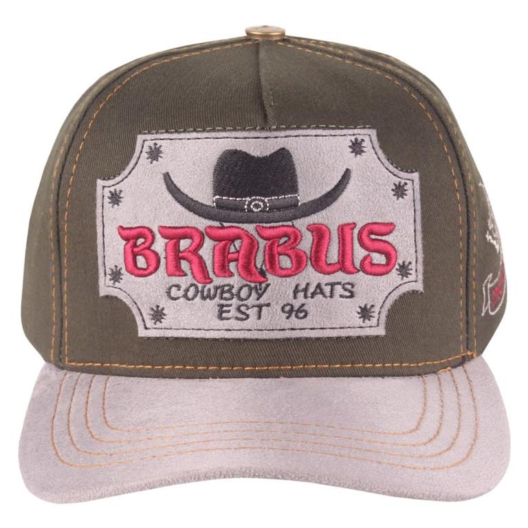 Boné Country Brabus Cowboy Verde