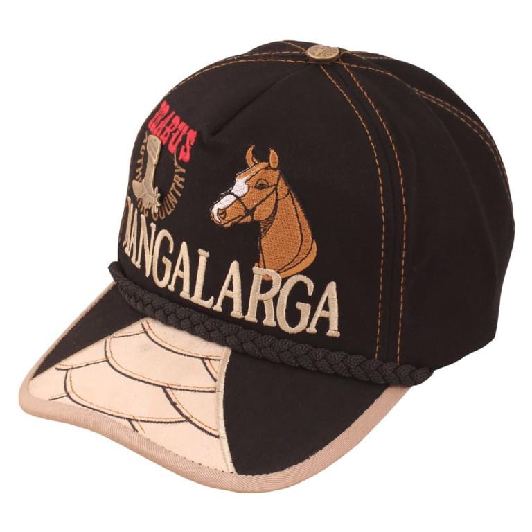Boné Country Brabus Mangalarga Preto