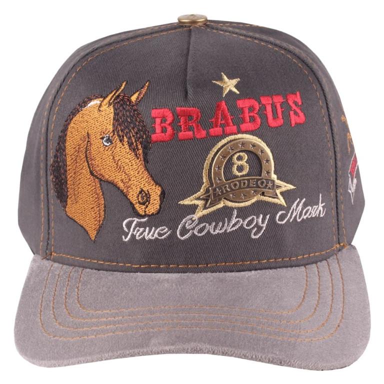 Boné Country Brabus Rodeo Cinza