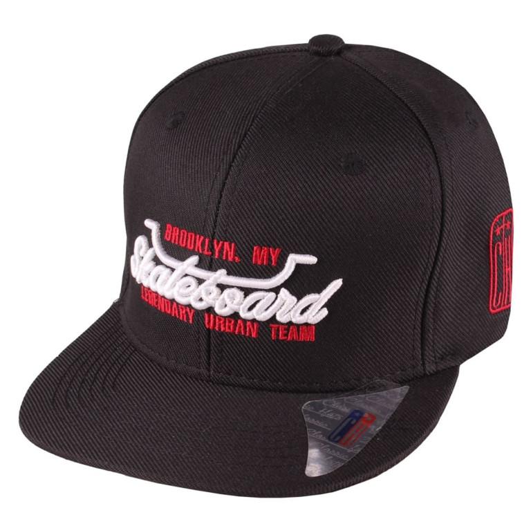Boné Infantil Aba Reta Snapback Classic Hats Skateboard