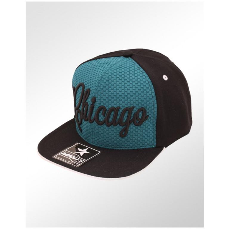 Boné Snapback Aba Reta Mants Chicago 1