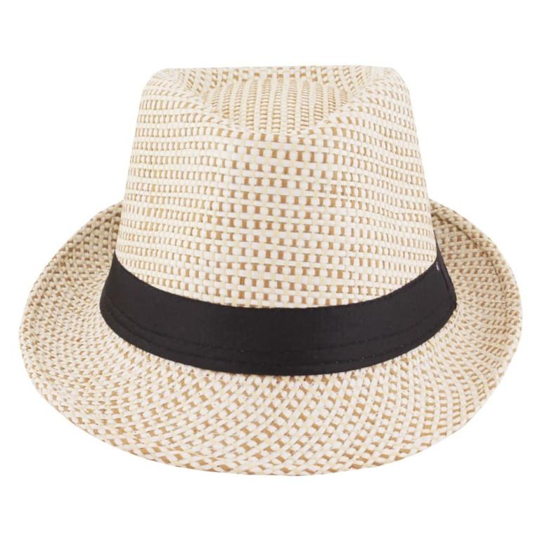 Chapéu Panamá Palha Bege