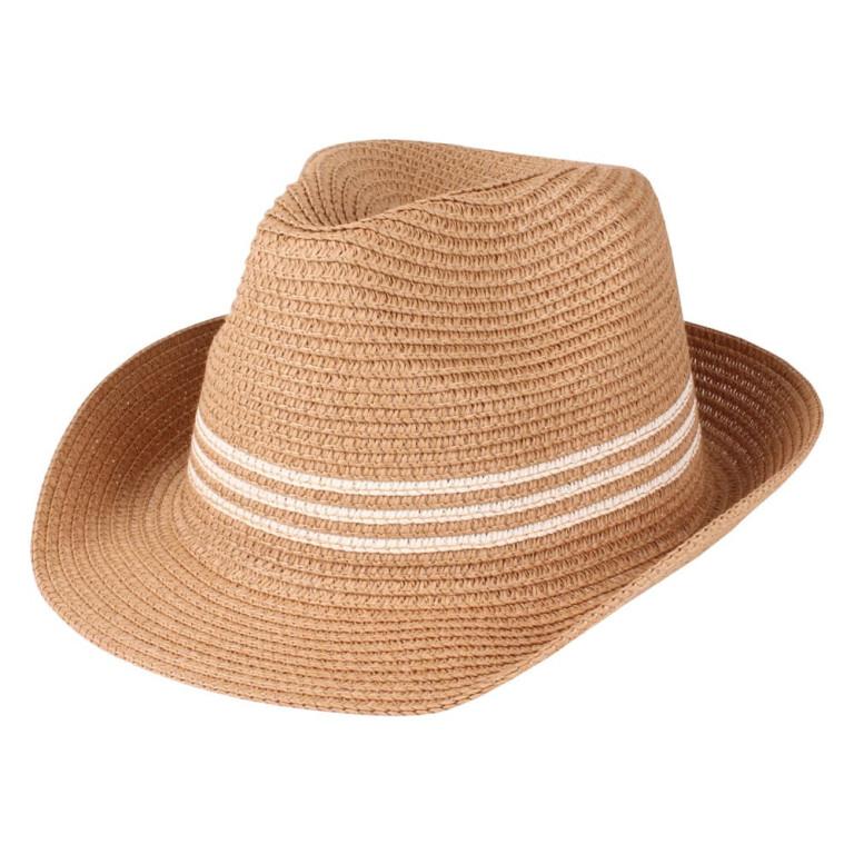 Chapéu Panamá Palha Caramelo
