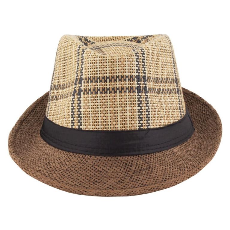 Chapéu Panamá Palha Marrom