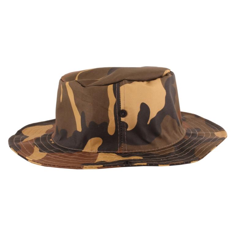 Chapéu Pescador Camuflado Marrom