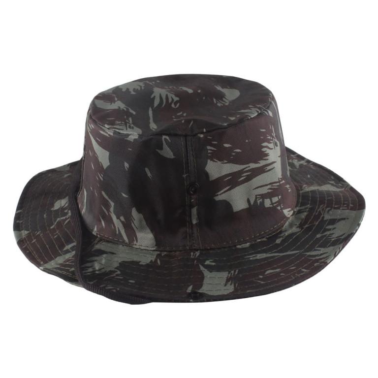 Chapéu Pescador Camuflado Verde
