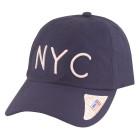 Boné Aba Curva Classic Hats NYC Marinho