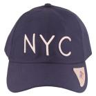 Boné Aba Curva Classic Hats NYC Marinho 2