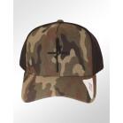 Boné Aba Curva Snapback Classic Hats Camuflado Verde Fé 2 2