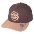 Boné Aba Curva Snapback Classic Hats New York 1982