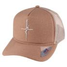 Boné Aba Curva Snapback Truker Classic Hats Fé Bege