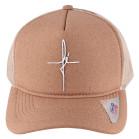 Boné Aba Curva Snapback Truker Classic Hats Fé Bege 2