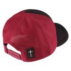 Boné Aba Curva Snapback Truker Classic Hats Fé Bordô 3