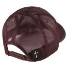 Boné Aba Curva Snapback Truker Classic Hats Fé Marrom 3