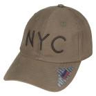 Boné Aba Curva Strapback Classic Hats NYC Verde
