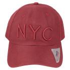 Boné Aba Curva Strapback Classic Hats NYC Vinho 2