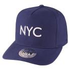 Boné Aba Curva Strapback Hype NYC Marinho