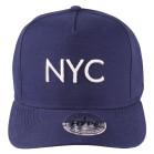 Boné Aba Curva Strapback Hype NYC Marinho 2