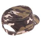 Boné Quepe Aba Curva Leopard Militar 3